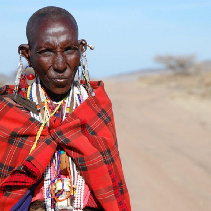 Maasai-woman,-Loliondo,-Tanzania