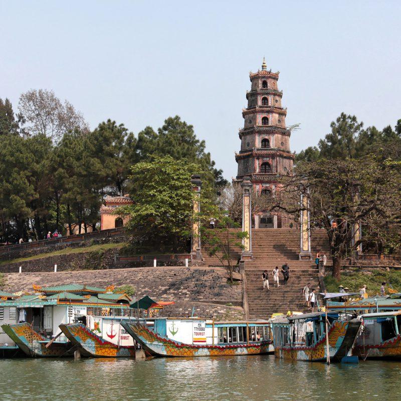 Пагода Тьенму в Хюэ (3)