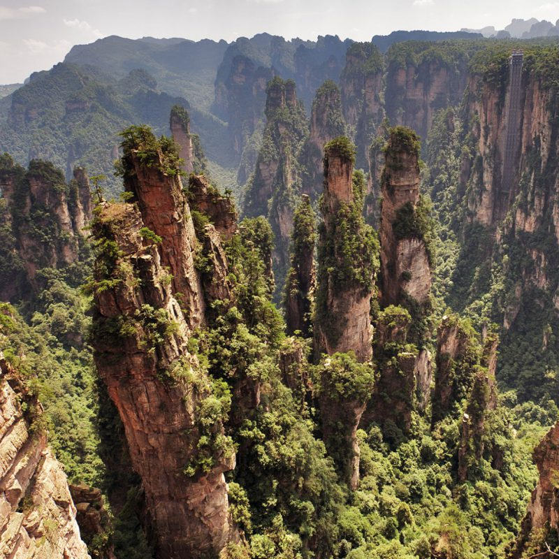 Zhangjiajie-National-Park-Hallelujah-Mountains-on-Earth-4